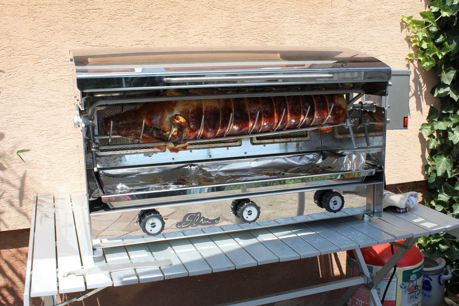Barbecue gaz vertical
