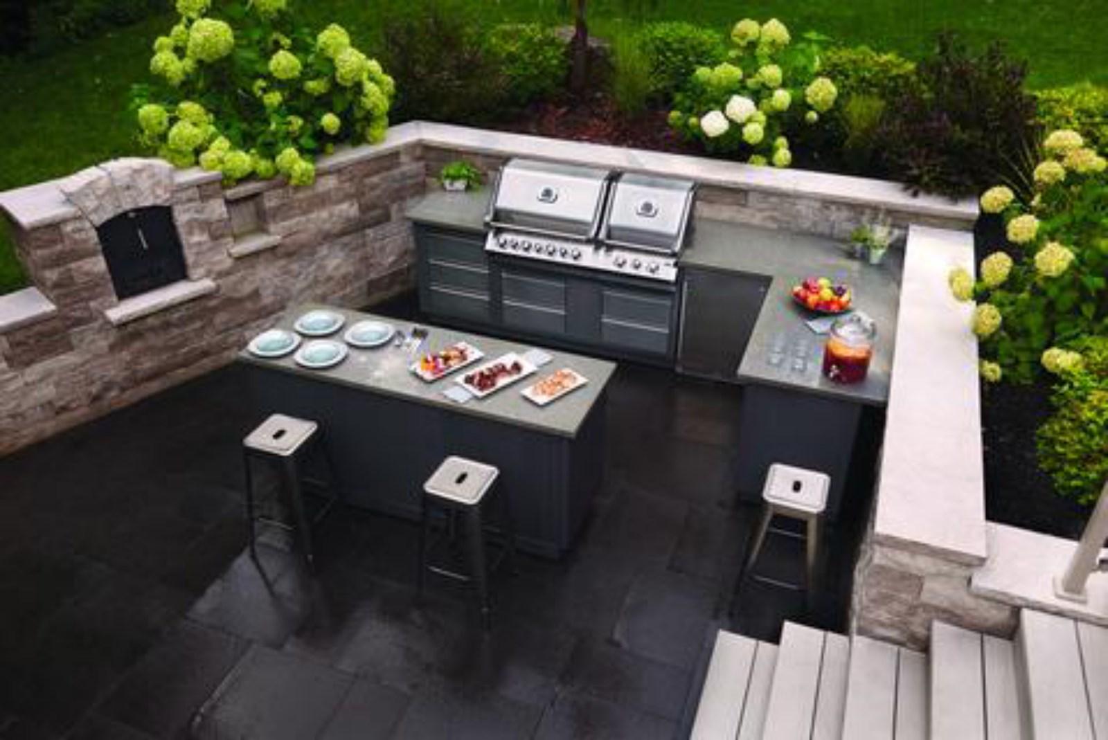 Envie D Une Cuisine D Exterieur Barbecue Et Materiel De